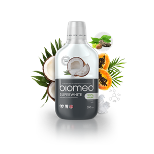 Biomed Super White mondwater